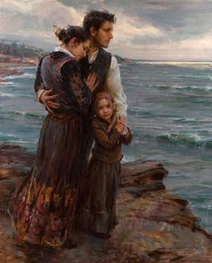 Daniel F. Gerhartz - this instantly reminded me of the Irish families leaving Erin to escape the famine, having to abandon their homes to go in search of a new world, full of uncertainty, with the hope of a better life. This has no relevance to the board, but I think those brave families deserve a mention. God bless them.