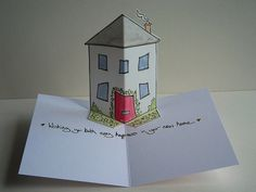 new home - pop up card | by rachelcreative