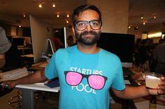 Pivotal Labs at TechZulu's barcrawl at Social Media Week LA 2014