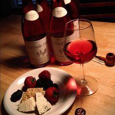 La Vielle Ferme Rosé...cheap but good light drink for summer