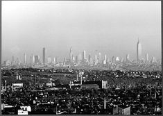 New York skyline seen from a distance of approximately 16 miles in New Jersey.  Old Pics New York City! - Page 3 - SkyscraperCity
