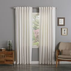 Day And Night Curtain White Tab Bathrooms