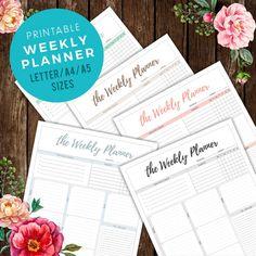 Weekly Planner Printable To Do List Printable Daily by halfmental  #erincondrenlifeplanner #printableplanner #digitalplanner #digitalcalendar #etsy #homedecor #planner #instantdownload #A4 #A5 #lettersize #print #lifeplanner #wallcalendar #typographycalendar #typographyplanner #digitaldownload #minimaldesign #ErinCondrendesign #monthlyplanner #ToDoListPlanner #DailyscheduleOrganizer #DeskPlanner #GoalPlanner #HabitsPlanner