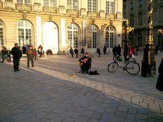 Fevrier  2014 Place Stanislas à Nancy