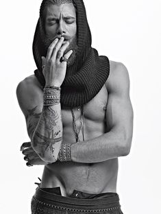 elle man004 Andrea Marcaccini Goes Tribal for Elle Man Mexico
