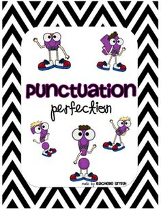 Freebie for teaching punctuation!There are 6 posters included:*Question Mark*Exclamation Point*Period*Comma*Quotation Marks*Apostrophe There are 6 recording sheets . Punctuation Posters, Grammar And Punctuation, Teaching Grammar, Teaching Language Arts, Classroom Language, Teaching Writing, Writing Activities, Teaching Resources, Punctuation Worksheets
