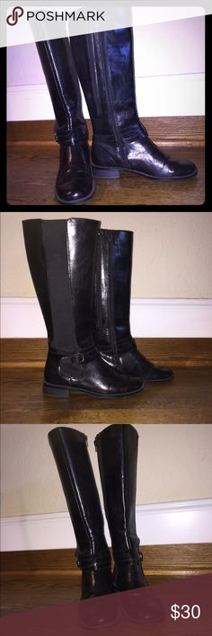 Riding Boots Like New Riding Boots with extra zipper for wider calfs. Aeropostale Shoes