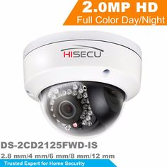 155.30$  Buy now - HiK New Released H.265 IP Camera DS-2CD2125FWD-IS 2MP Ultra-Low Light Network Dome Camera IP67 On-Board  Storage Support Upgrade  #buyonline