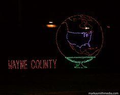 Wayne County Lightfest 2016