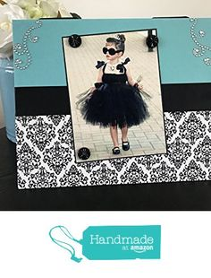 """Breakfast at Tiffany's woman girl room decor best friend bridal wedding shower mothers day gift handmade magnetic picture frame holds 5"""" x 7"""" photo 9"""" x 11"""" size from FrameAMemory"""