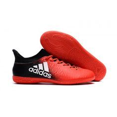 Adidas X 16.3 Indoor Football Boot Orange Black White Chuteiras f1d36354bc576