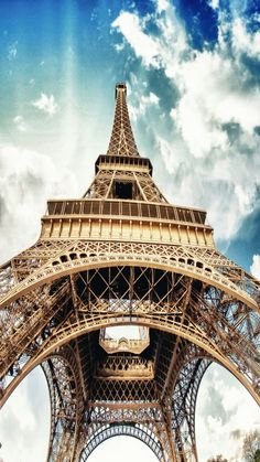 Tap on image for more iPhone Wallpapers! Eiffel Tower - @mobile9