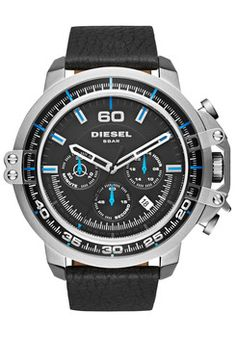 Diesel DZ4408 Deadeye Chrono Black Silver