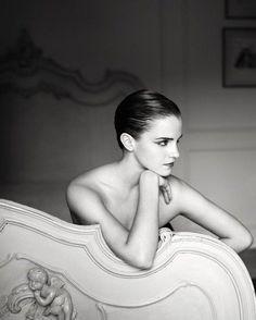 Emma Watson at Mariano Vivanco Photoshoot for i-D Magazine