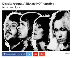 Visit my blog for the link to this Abba article... #Abba #Agnetha #Frida http://abbafansblog.blogspot.co.uk/2017/02/abba-article.html