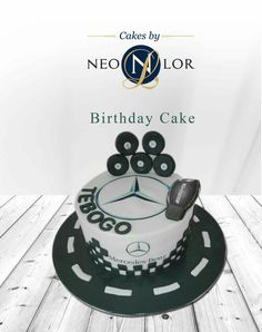 Mercedes logo cake cakes pinterest cake cake for Mercedes benz cake design