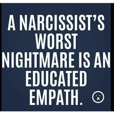 There has never been a more toxic union than when an empath loves a narcissist. If you're an empath and you've fallen in love with a narcissist then be warn Narcissistic People, Narcissistic Mother, Narcissistic Behavior, Narcissistic Abuse Recovery, Narcissistic Sociopath, Narcissistic Personality Disorder, Sociopath Traits, Personality Disorder Types, Toxic Relationships
