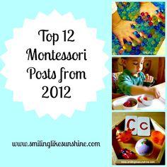 Smiling like Sunshine: Montessori