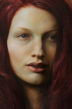 (Detail of the painting) Imitation, 2011 Oil on wood - Bryan Drury