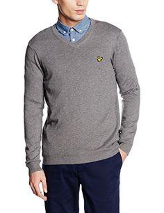 Shop Lyle & Scott Men's Merino Long Sleeve V-Neck Jumper. Lyle Scott, Mens Jumpers, V Neck, Pullover, Amazon, Long Sleeve, Sleeves, Sweaters, Shopping