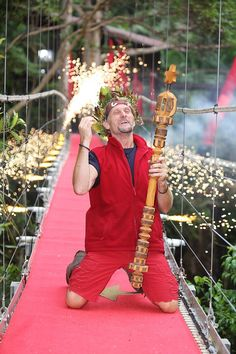 Carl 'Foggy' Fogarty is crowned King of the Jungle in I'm A Celebrity. Latest Series, Who Will Win, Great Tv Shows, Celebs, Celebrities, Favorite Tv Shows, Motorcycles, Hallmark Movies, Celebrity