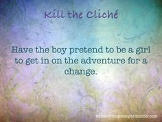 We all know those tired clichés. It's time to kill them. Take one of them and…