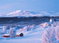 Need winter! Missing Northern Sweden The Places Youll Go, Places To See, Voyage Suede, Kingdom Of Sweden, Beautiful World, Beautiful Places, Lappland, Scandinavian Countries, Wanderlust