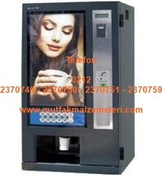Çay Kahve Otomatı A869272:Büro tipi çay otomatları işyeri tipi kahve otomatları otomatik çay kahve makinalarından bu 10 çeşit sıcak içecek yapabilen hazır çay kahve otomatı; toz çay hazır kahve granül sıcak içecekler sıcak sahlep ve sıcak çikolata benzeri içecekleri otomatik olarak hazırlar.Çay kahve otomatı içerisindeki bardak haznesinden aldığı karton bardağa çayı kahveyi otomatik olarak doldurur - Çay kahve otomatı satışı 0212 2370749…