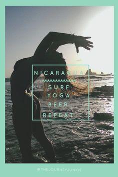 nicaragua, san juan del sur, pinterest image