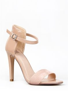 Delicious STICK Ankle Strap Heels -