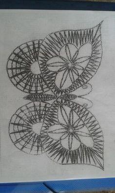 Freeform Crochet, Irish Crochet, Crochet Lace, Bobbin Lace Patterns, Tatting Patterns, Bobbin Lacemaking, Crochet Butterfly, Lace Heart, Lace Jewelry