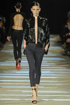Stylish Black at Alexandre Vauthier Spring Summer Couture 2013 #HauteCouture  #HC #Fashion