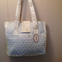 Stephen Baby Diaper Tote Stephen Baby quilted diaper tote. New with tag, excellent condition! Stephen Baby Bags Baby Bags