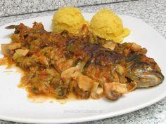 Romanian Food, Shrimp, Vegetarian, Fish, Vegan, Chicken, Recipes, Kitchens, Drinks