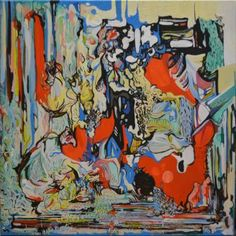 "Saatchi Art Artist DIANA ROIG; Painting, ""Minced flowers for my sweet heart."" #art"