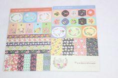 Sticker - Sticker Set Papier The Secret Garden - ein Designerstück von madonner…
