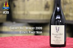 Velvety, fragrant, light and appealing for the ripe blueberry and plum flavors that rise up through the refined tannins and linger on the deftly balanced finish. Drink now through 2017  91 Points Wine Spectator.    http://www.marketviewliquor.com/product/cherry-hill-winery-estate-pinot-noir-wine-750ml.html