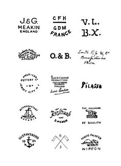 love fonts that look like they've been beaten into metal, or letterpressed. these all make me think of hand crafted metal, bone, and woodwork. Typography Logo, Graphic Design Typography, Logo Branding, Branding Design, Pottery Marks, Custom Woodworking, Woodworking Machinery, Design Graphique, Visual Communication
