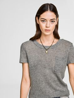 The Essential Tshirt    Grey Heather Cashmere Robe 036fbb8ed