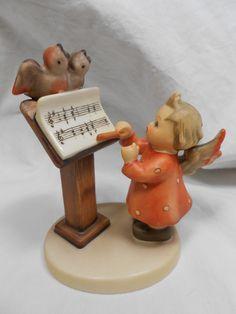 "Goebel Hummel Figurine "" Bird Duet "" 169   TMK 5   4"" Tall picclick.com"