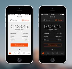 Strava Redesign by Thom