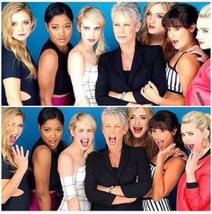 The Scream Queens themselves. #screamqueens