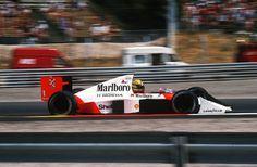 Ayrton Senna  McLaren - Honda 1989