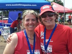 The Rookie Triathlon - #2 in Texas Tri Series... Great to PR in all legs... This is one of my awesome TriZones coaches who has been helping me improve for 8 years. :)