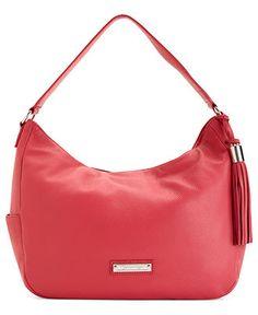 Calvin Klein Handbag, Sonoma Leather Hobo - Hobo Bags - Handbags & Accessories - Macy's