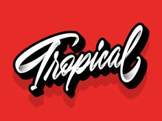 Tropical 🌴 designed by Jonathan Ortiz. Connect with them on Dribbble; Tropical Design, Saint Charles, San Luis Obispo, Marina Del Rey
