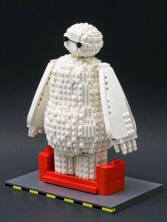DeToyz Shop: Lego MOC: Baymax from Big Hero 6