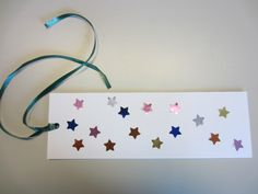Bookmark for storytime about books & libraries (9/11/12)