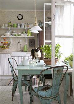 La mesa justo en la ventana?¿  ¡Sí!