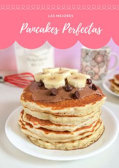 Birthday Decorations, Pancakes, Bakery, Brunch, Foods, Breakfast, Sweet, Recipes, Yummy Food